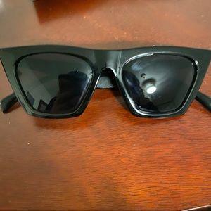 Cat eye trendy sunglasses